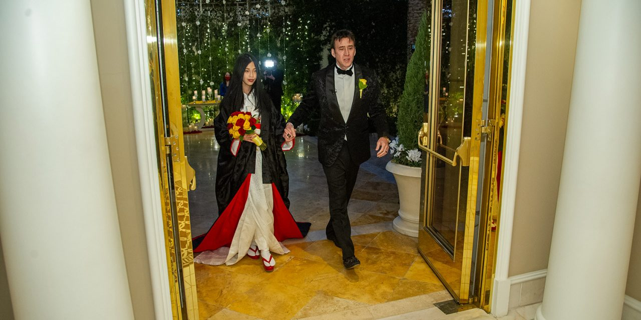 Nicolas Cage ties knot for the 5th time; Marries 26-year-old Riko Shibata