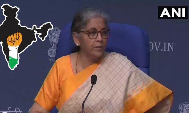 Declaration of Atmanirbhar Bharat Rozgar Yojana by FM