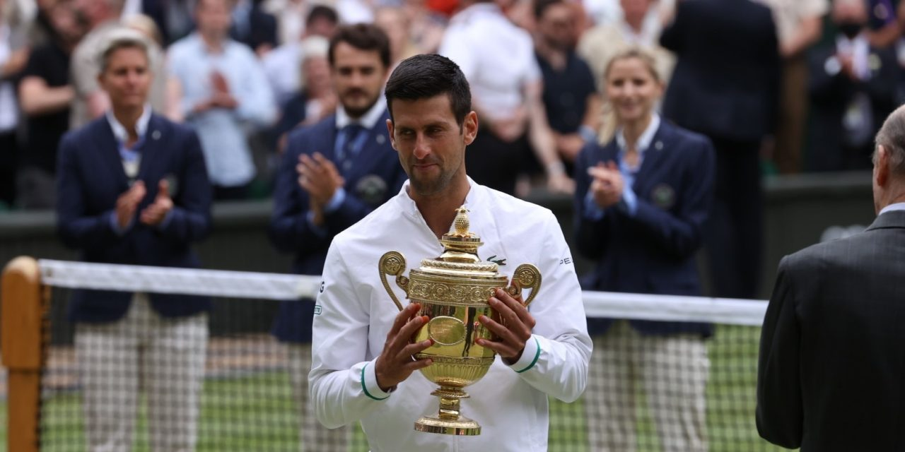 Wimbledon 2021: Tendulkar, Federer Congratulates Djokovic for Securing 20th Grand Slam