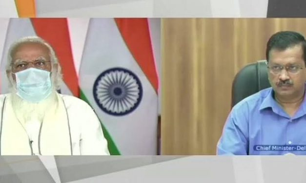 PM-CM Meet: PM Modi scolds Delhi CM Kejriwal for breaking 'protocol', Kejriwal expresses regret