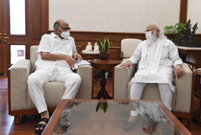 Political Rumours Ripe as PM Modi Meets NCP Chief Sharad Pawar and Karnataka CM Yediyurappa