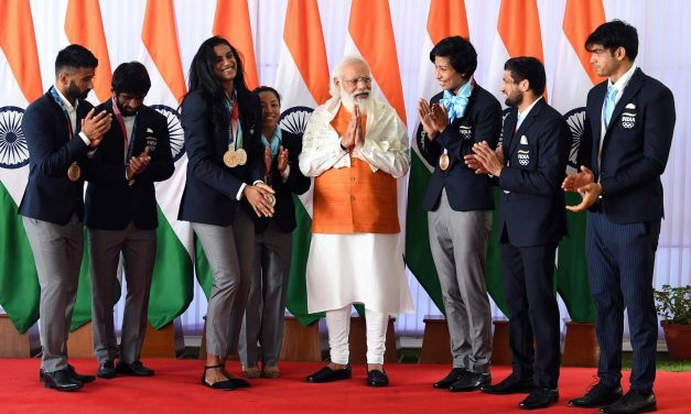 PM Modi's Meet over Breakfast with Olympians: Freshly Churned Churma For Neeraj, Ice-cream For Sindhu and Many More