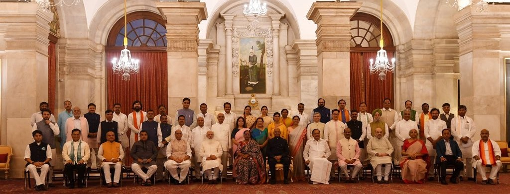 PM Modi Cabinet 2.0: A Look at Full List of Ministers After the Cabinet Rejig