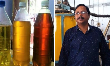 This engineer from Hyderabad is doing wonders, extracting petrol from plastic waste.