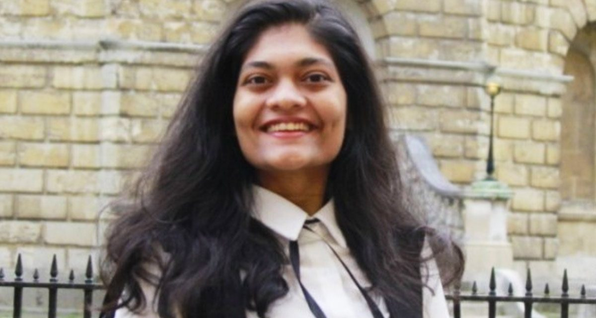 Rashmi Samant creates history, elected as first female President of Oxford Students' Union
