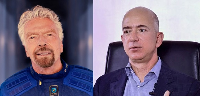 Richard Branson vs. Jeff Bezos: Battle for flight to the outer space, Branson might win