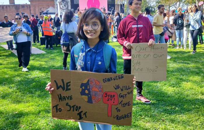 This 11-Year-Old Girl is being called India's Greta Thunberg. See Why?