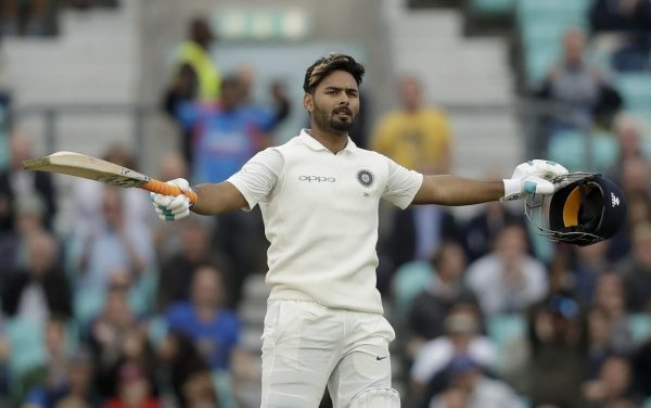 Rishabh Pant Slams a Century