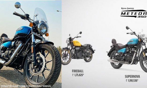 The all-new Royal Enfield Meteor 350