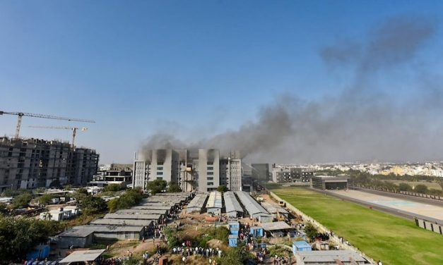 SII Pune Fire Update: 5 charred bodies found at site by rescue team