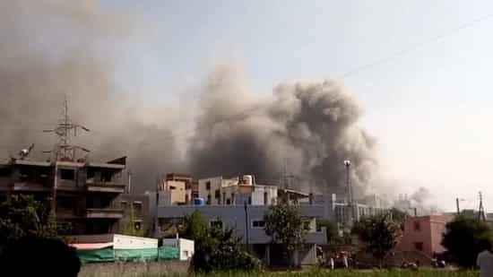 Massive fire at vaccine manufacturing giant Serum Institute of India