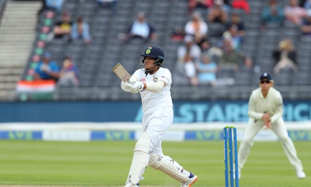 Shafali Verma's historic 96-run knock puts India on Top before Team Collapses