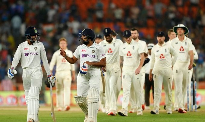 """Ind-Eng Day-Night Test became """"The shortest test"""" in History"""