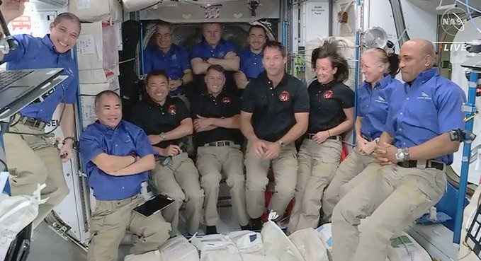 SpaceX Crew-2 Dragon Docks at ISS: 4 Crew-2 astronauts aboard International Space Station