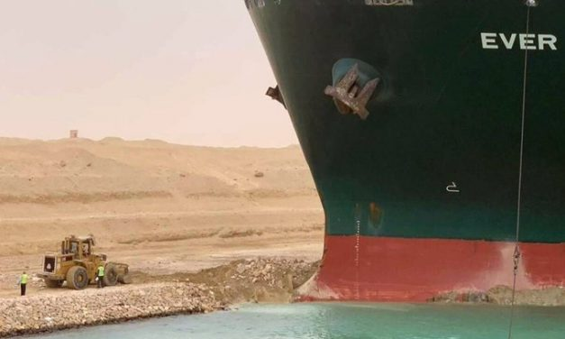 What's up with Suez Canal being blocked by Ever Given?