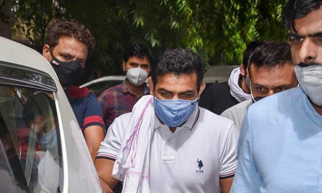 Wrestler Convict Sushil Kumar Demands Protein Shake in Jail for Tokyo Olympics Preparation