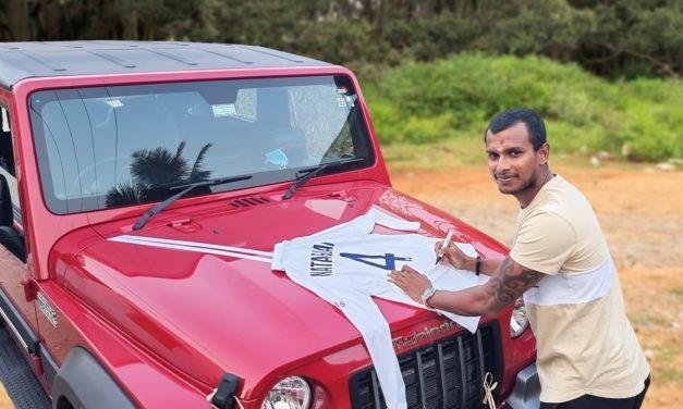 Anand Mahindra gifts new THAR SUV to T Natarajan, Shardul Thakur, Washington Sundar and more