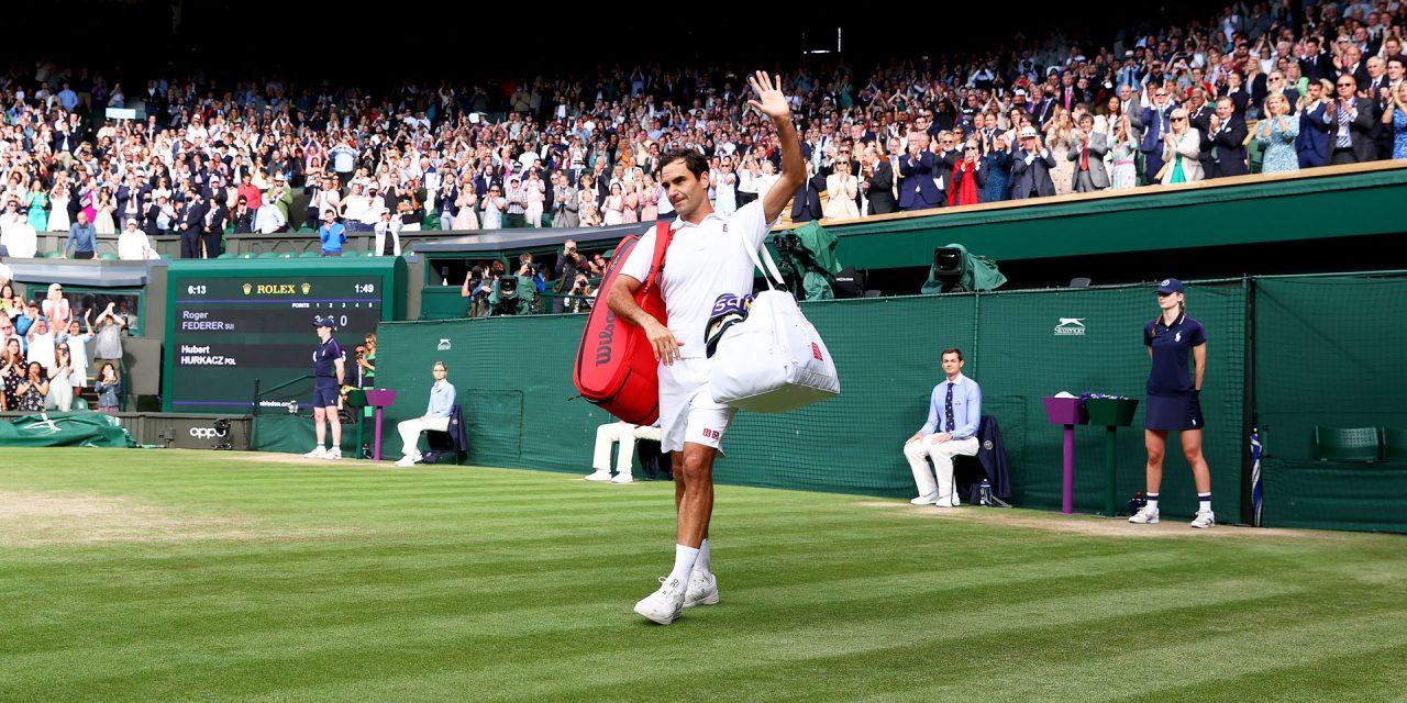 8-time Wimbledon Champ Roger Federer heading over for Retirement?