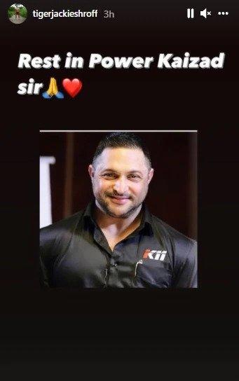 Tiger Shroff's Fitness Trainer Kaizad Capadia