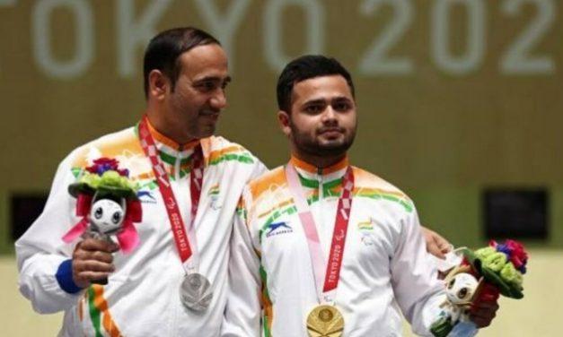Paralympics: Medal Rush Continues – Manish Narwal Brings Gold, Singhraj Adhana Claims Silver