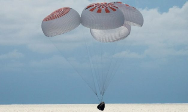 SpaceX's 'no astronaut' crew lands safely on Earth