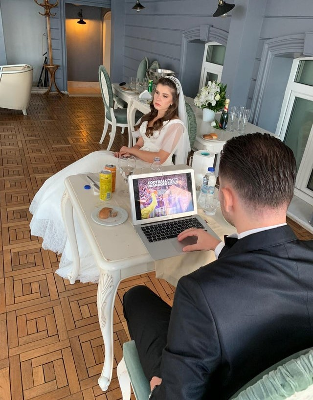 Turkish-Groom-Pulls-Laptop-Out