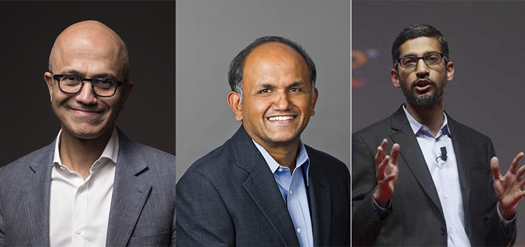 Making India Proud: 5 Indians Who Are CEOs of Biggest Tech Companies in the World.