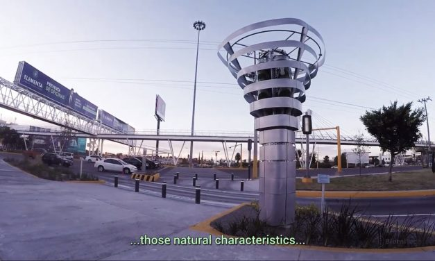 This Single Artificial Tree Can Purify Polluted Air as much as 1 Hectare of Forest Cover would.