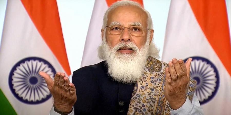 PM Narendra Modi Gets Emotional Flagging Off COVID19 Vaccination Drive