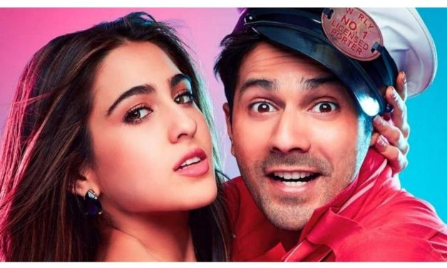 Varun Dhawan's action scene in Coolie No 1 gets trolled with Memes- RIP physics