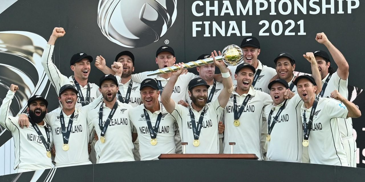 WTC Final: New Zealand Holds Nerve Against India to be Crowned World Test Champions