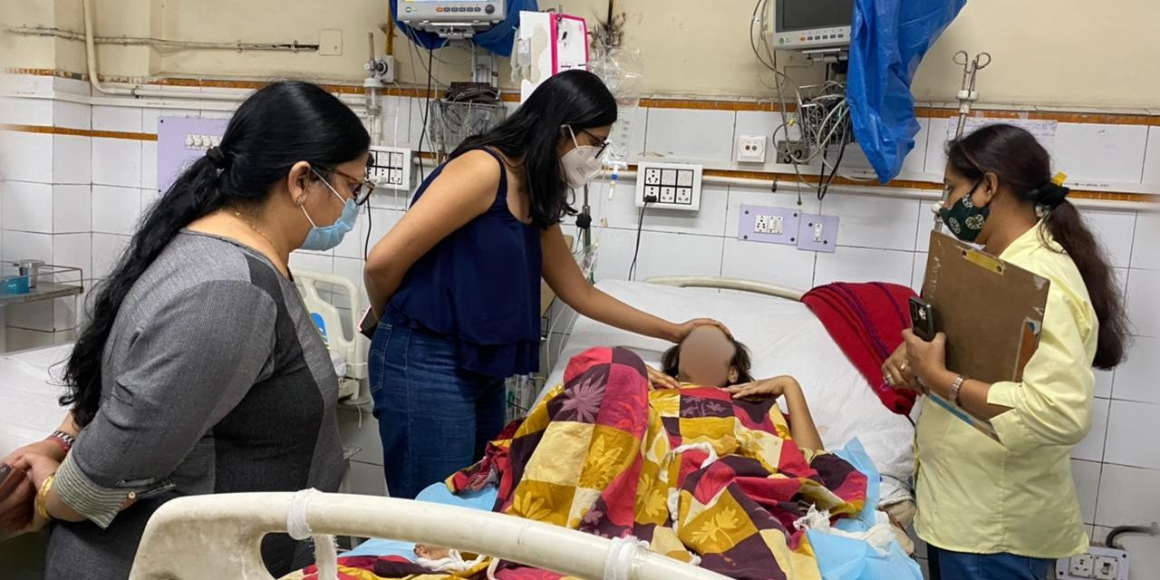 Gwalior Woman Forced to Drink Acid by Husband Left Fighting for Life in Delhi Hospital