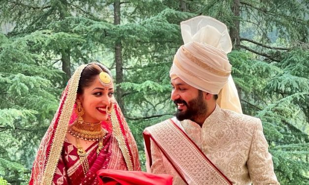Actress Yami Gautam ties knot with Aditya Dhar in an intimate ceremony