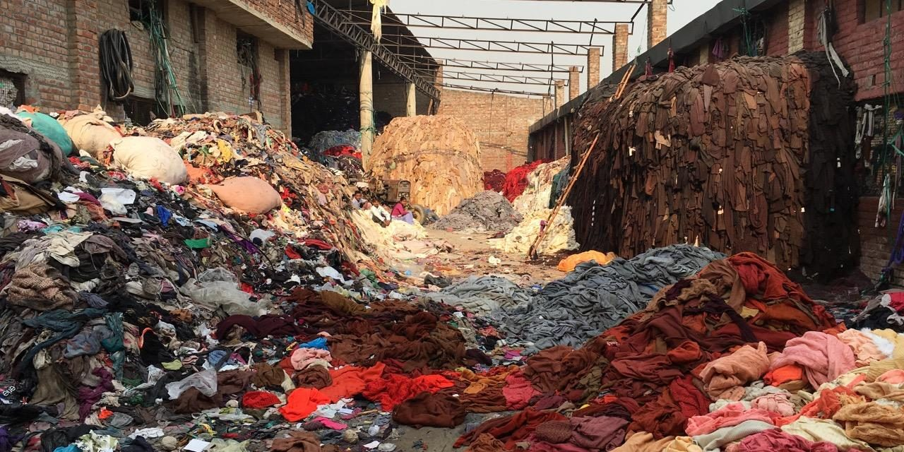 This Indian City is the dumping ground of Globally Discarded Clothes.