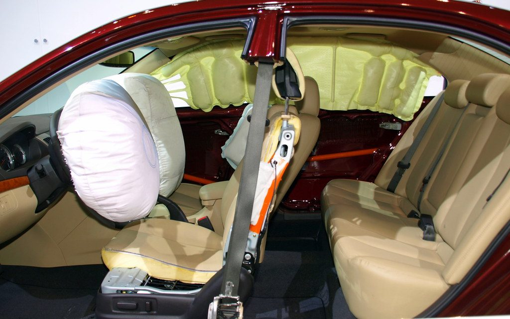 Mandatory Airbags from 1st April because Safety First