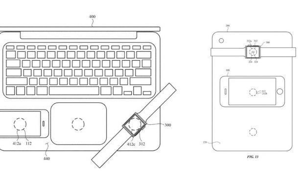 Apple Granted Patents For Tech Which Lets Macbook Charge iPhone Wirelessly