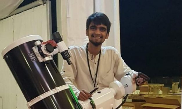 Meet the 19 YO Astronomy Entrepreneur Who Discovered an Asteroid at 14 Years Age