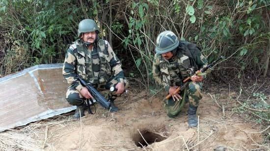 BSF Detects 150-Meter Tunnel To Facilitate Terrorist Infiltration into J&K