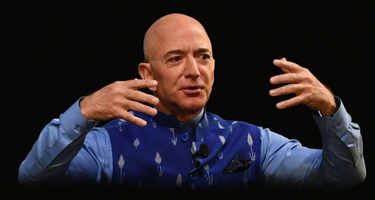Jeff Bezos to step down as the CEO of Amazon