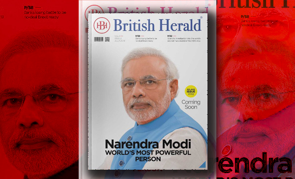 """Narendra Modi is voted to be the """"World's Most Powerful Leader"""" in a poll conducted by a UK Magazine."""