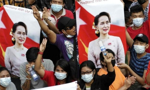 The Three-fingers Salute, Coup and Protest : Myanmar