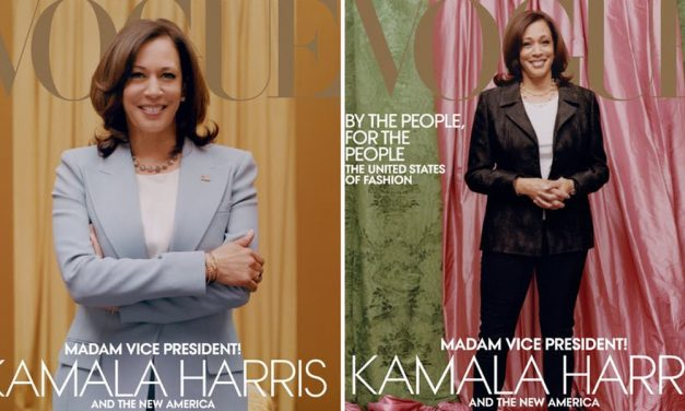 "Vogue gets slammed by Netizens; Accused of ""Whitewashing"" Kamala Harris"