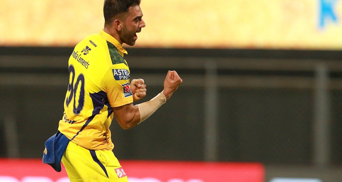 CSK VS PBKS: Deepak Chahar's 4 wicket haul helps CSK Register One-Sided Victory over Punjab Kings