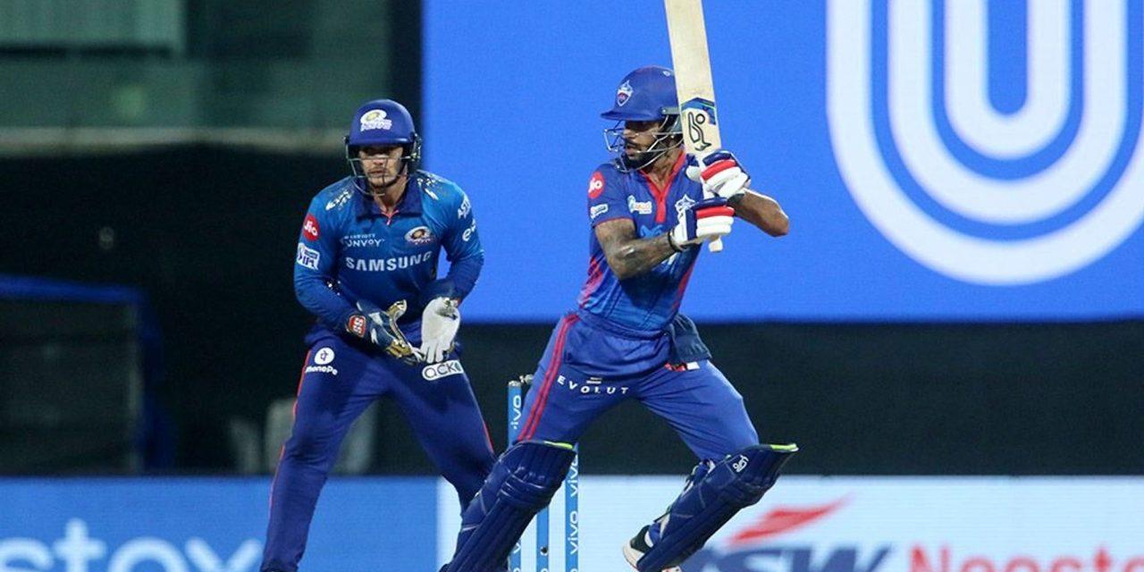 MI VS DC: Amit Mishra's 4-wicket haul and Shikhar Dhawan's batting helps DC end its losing streak