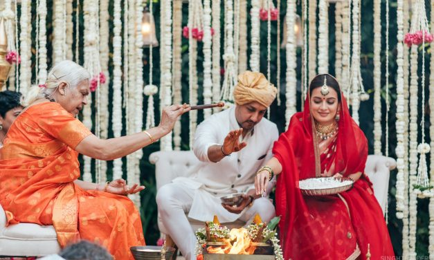 "Dia Mirza and Vaibhav Rekhi gets hitched; ""Love is a full-circle we call home"": Dia Mirza"