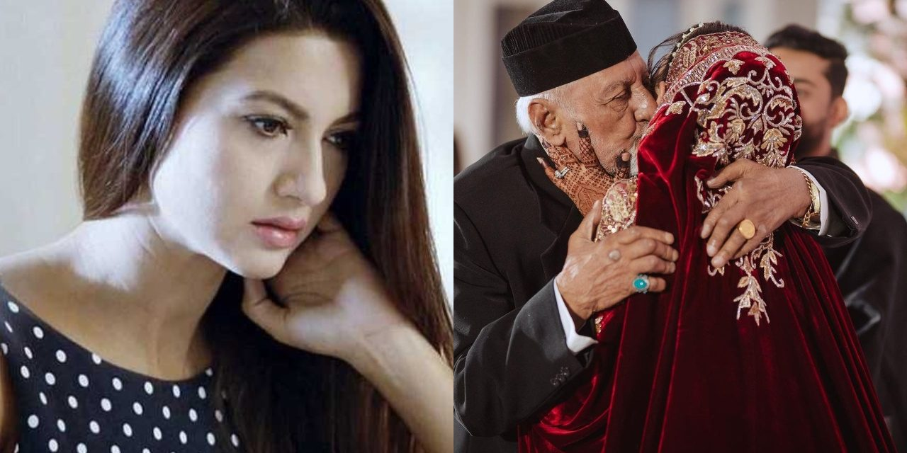 Gauahar Khan's father dies hours after she shared his last picture on Instagram