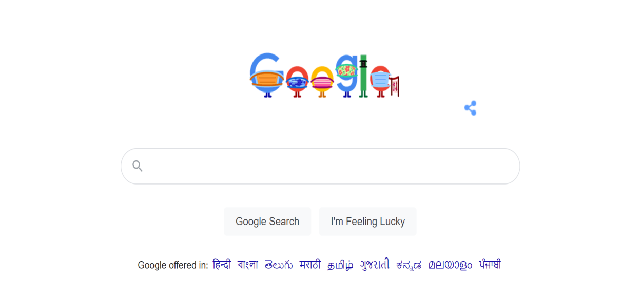 Google shares a new Google doodle for COVID-19 prevention: 'Wear Masks & Save Lives'