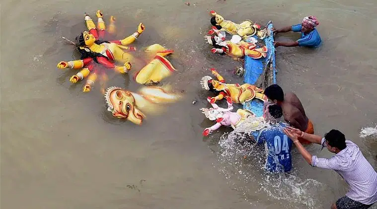Murti Visarjan banned in River Ganga and Its Tributaries by Central Govt, Violation Charges Rs. 50,000