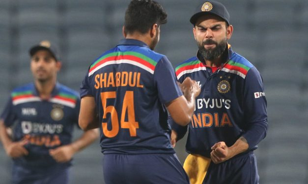 Thanks to debutants Prasidh Krishna, Krunal Pandya, India defeats England by 66 runs