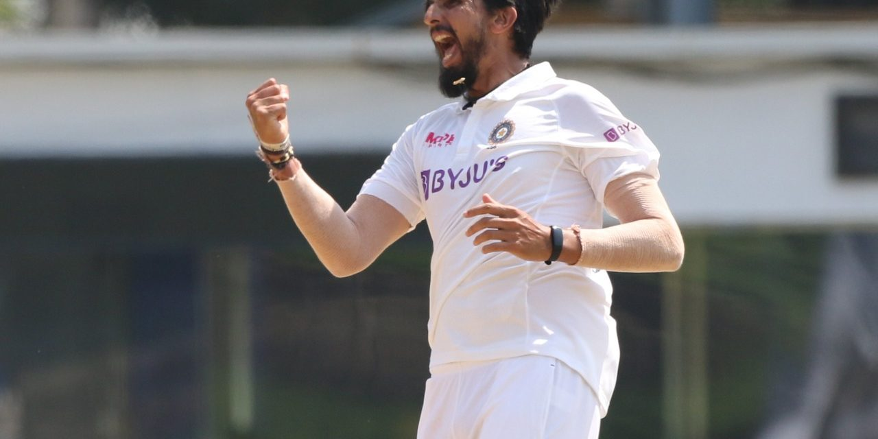 Ishant Sharma becomes 3rd Indian fast bowler to take 300 wickets in Test